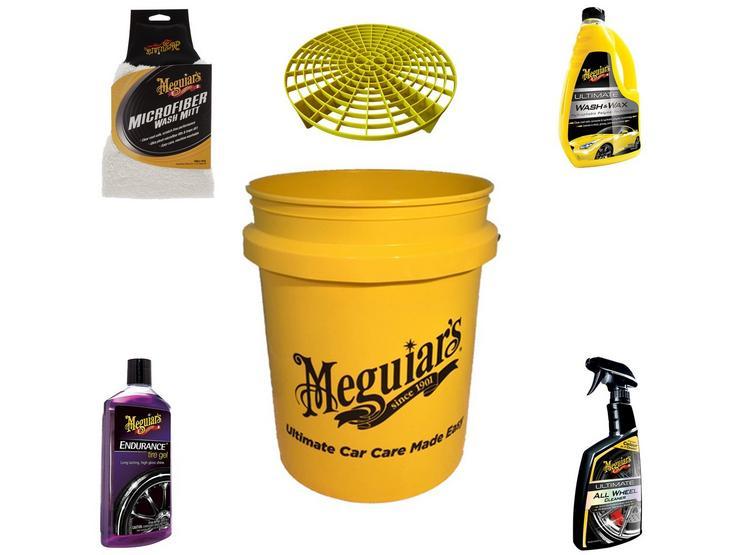 Meguiars Car Cleaning Essentials Set