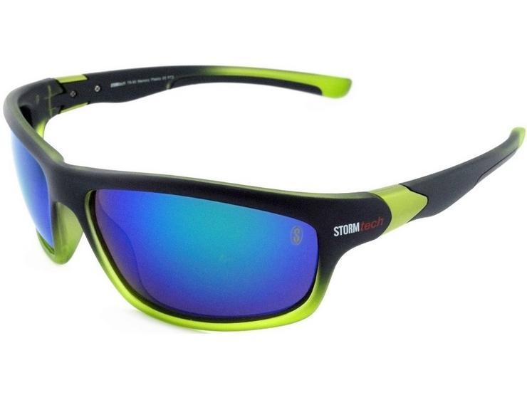 StormTech Crete Sunglasses, Black/Green