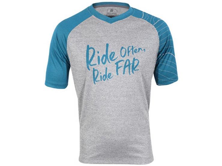 Polaris Horizon Cycling Jersey, Marl/Blue, S