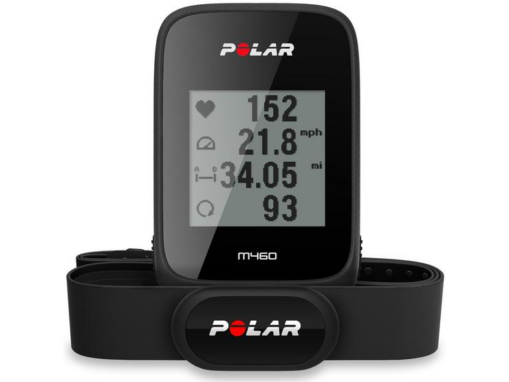 Polar M460 GPS Cycle Computer with H10 Heart Rate Monitor