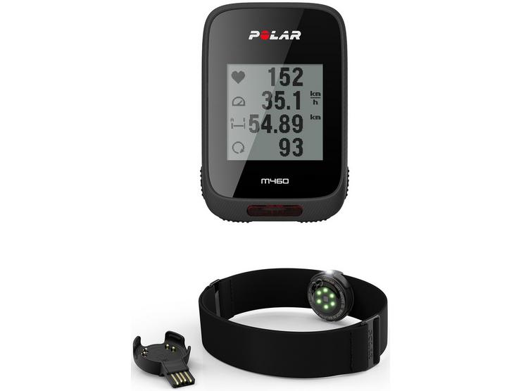 Polar M460 GPS Cycle Computer with OH1 Heart Rate Monitor