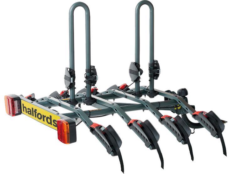 Halfords 4-Bike Towbar Mounted Bike Rack