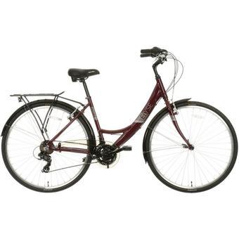 560653: Apollo Elyse Womens Hybrid Bike - Purple - 16, 18 Frames