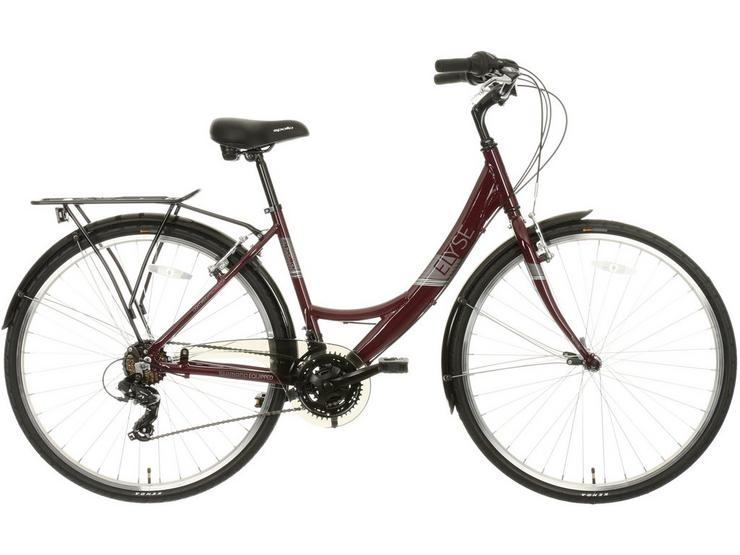 "Apollo Elyse Womens Hybrid Bike - Purple - 16"", 18"" Frames"