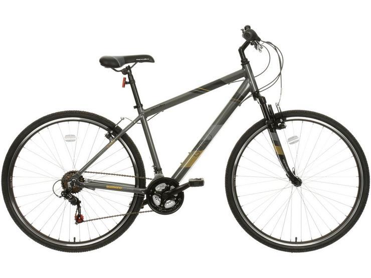 "Apollo Guru Mens Hybrid Bike - 18"", 21"" Frames"