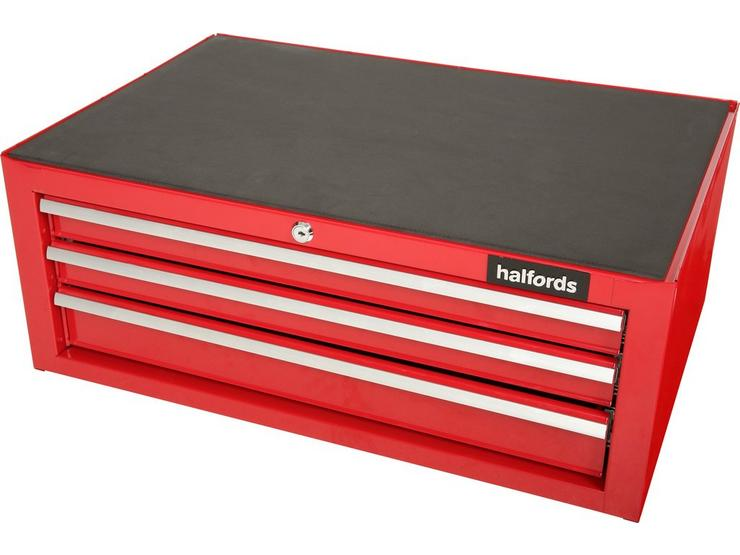 Halfords 3 Drawer Mid Chest - Red