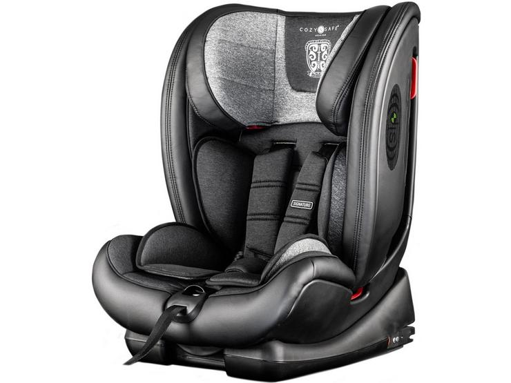 CozyNSafe Excalibur (25KG Harness) Group 1/2/3 ISOFIX Car Seat -  Graphite