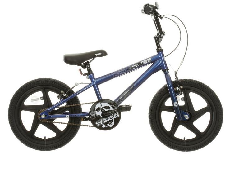 "X-Rated Shockwave Kids BMX Bike - 16"" Wheel"