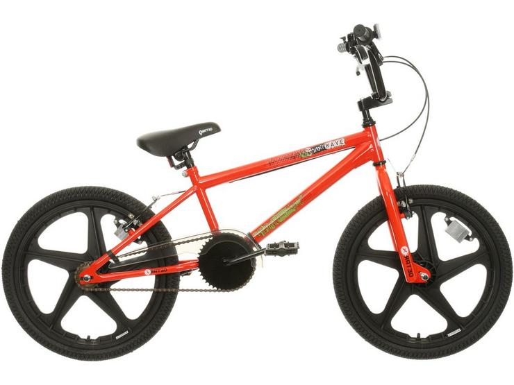 "X-Rated Shockwave Kids BMX Bike - 20"" Wheel"