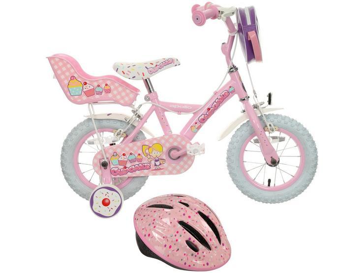 "Apollo Cupcake 12"" Bike Bundle"