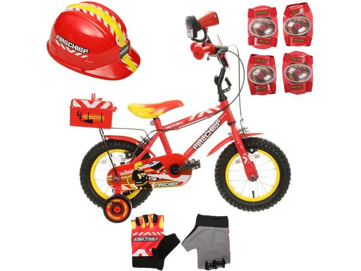 Apollo Firechief Bike and Matching Accessories Bundle