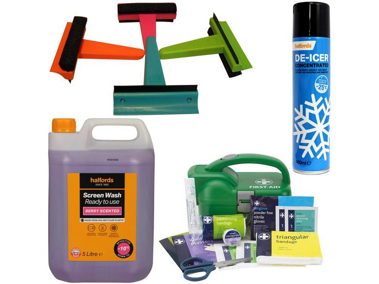 Winter Ready - prepare for anything with -10 Screenwash Bundle