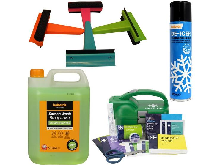 Winter Ready - prepare for anything with -20 Screenwash Bundle