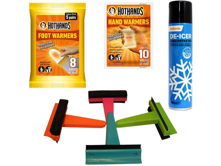 Winter Ready with Hot Hand and Foot Warmers Bundle