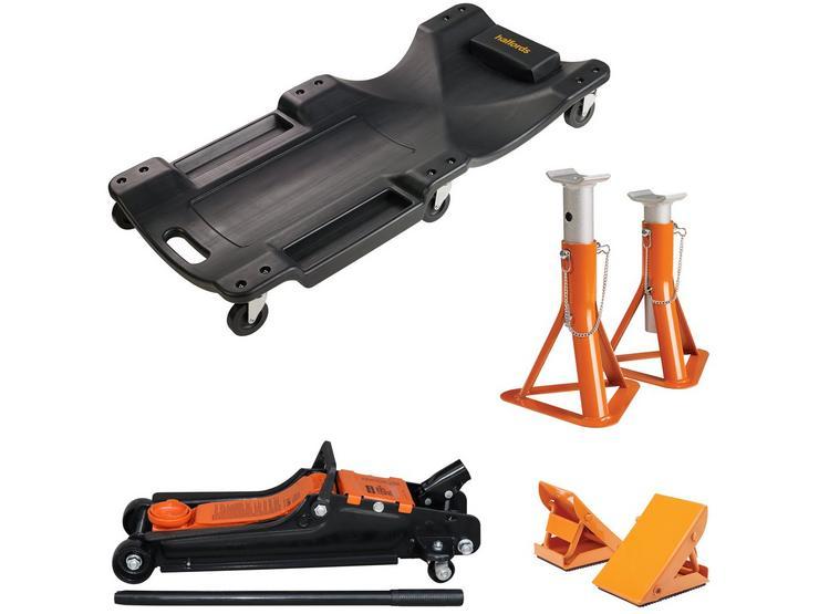 Halfords Garage Essentials Lifting Set