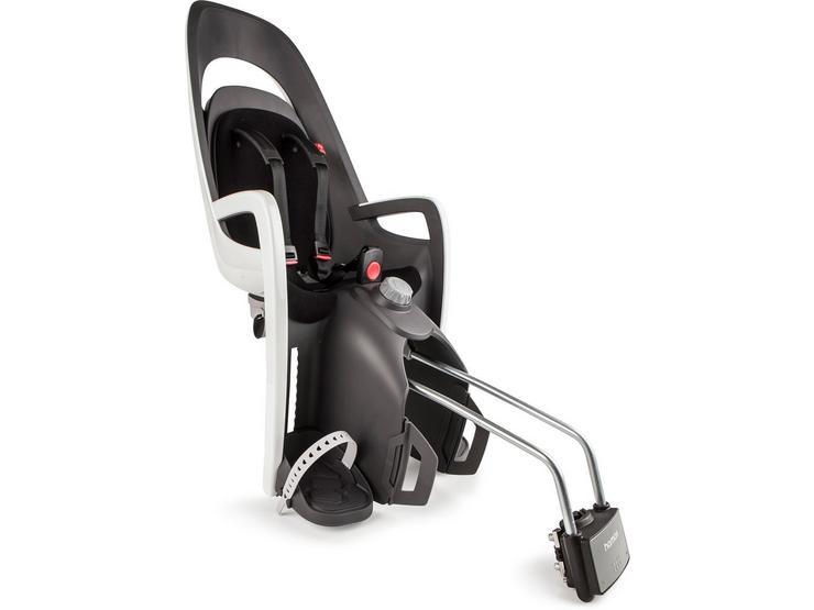 Hamax Caress Rear Frame Mount Child Seat – White/Black