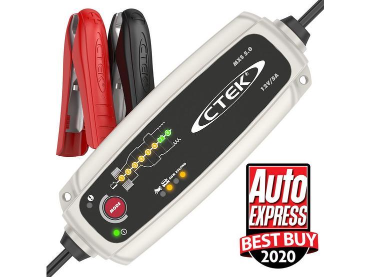 CTEK MXS 5.0 T UK Battery Charger