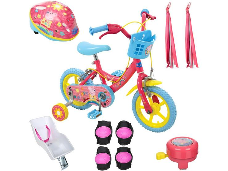 Peppa Pig Kids Bike and your must have accessories