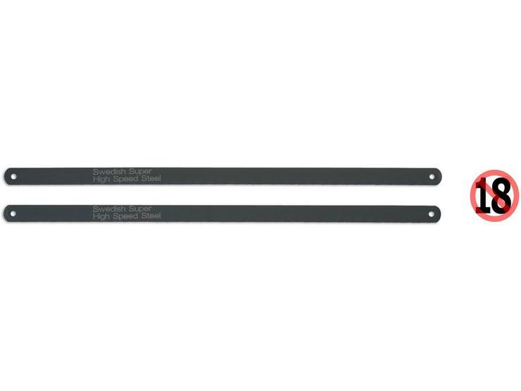 Laser Hacksaw Blades 2pc HSS