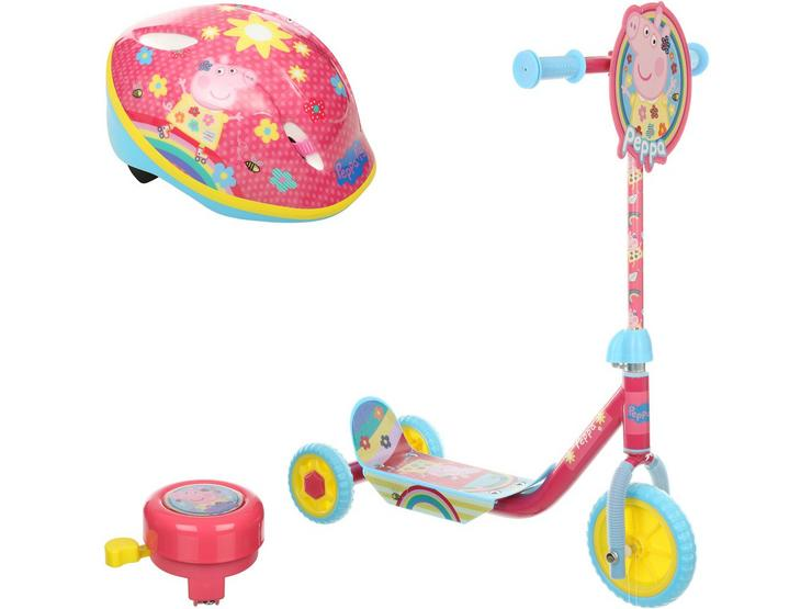 Peppa Pig My First Tri-Scooter Bundle