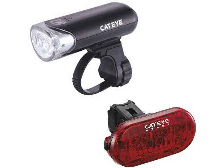 Cateye EL135/LD155 Bike Light Set