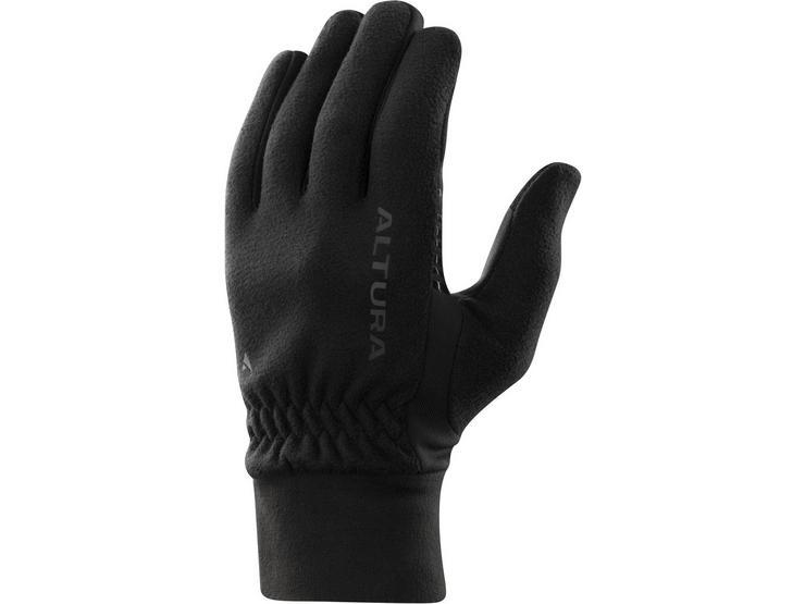 Altura Microfleece Windproof Glove Black