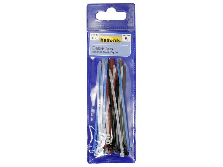 Halfords Assorted Cable Ties