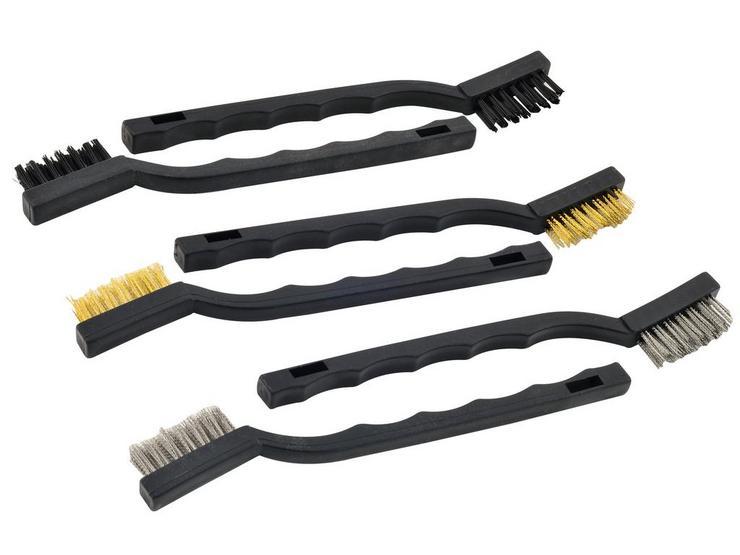 Rolson 6pc Mini Wire Brush Set