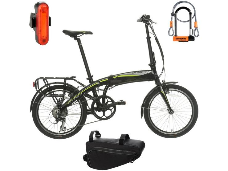 Carrera Crosscity Electric Bike and Must Have Accessories Bundle