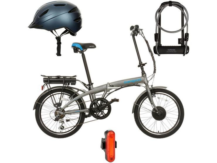 Apollo Transport Electric Bike and Must Have AccessoriesBundle