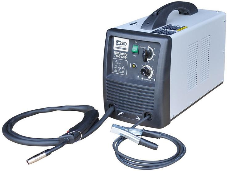 SIP T166 MIG Gas / Gasless Welder