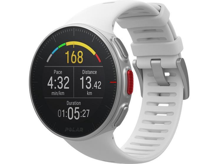 Polar Vantage V GPS Multisport Watch, White