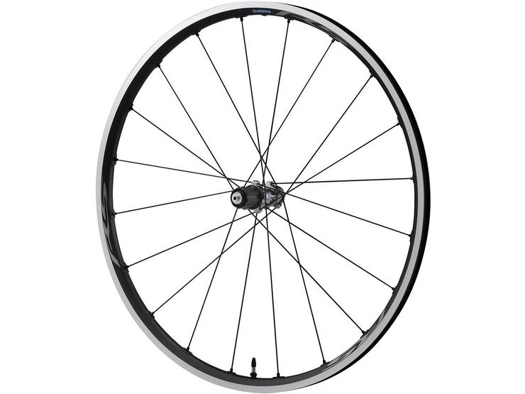 RS500-TL Tubeless compatible clincher, 9/10/11-speed, rear 130 mm Q/R, grey