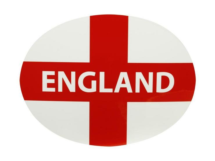Halfords England Car Sticker