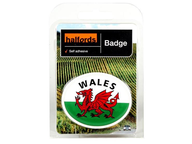 Halfords Deluxe Welsh Badge