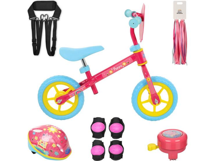 Peppa Pig Balance Bike and your must have accessories