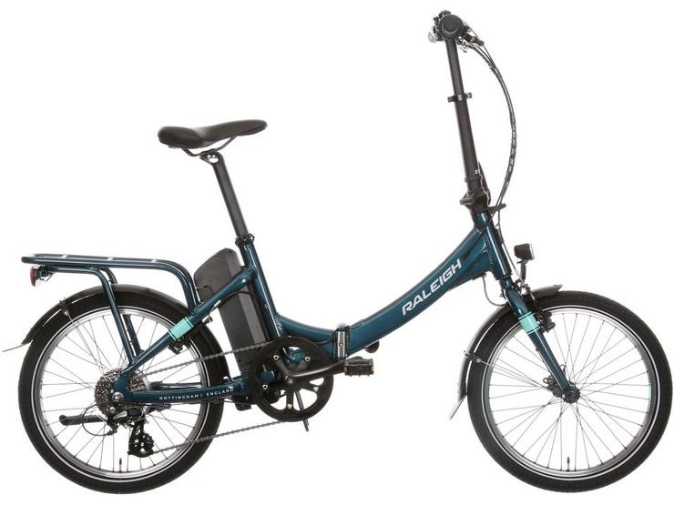 "Raleigh Evo Electric Folding Bike 20"" Wheel"