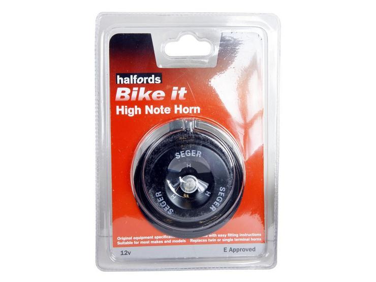 Halfords Bike it High Note Motorcycle Horn