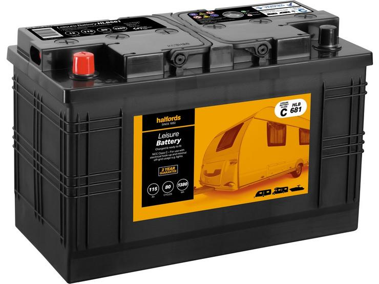 Halfords Leisure Battery HLB681