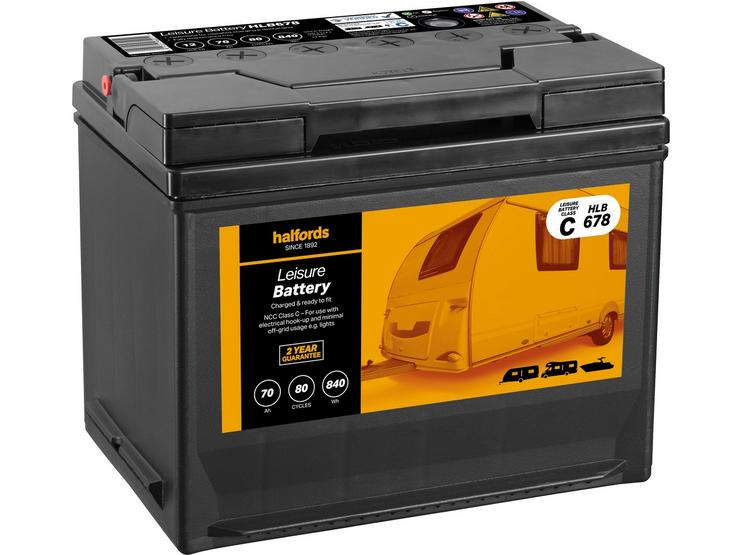 Halfords Leisure Battery HLB678