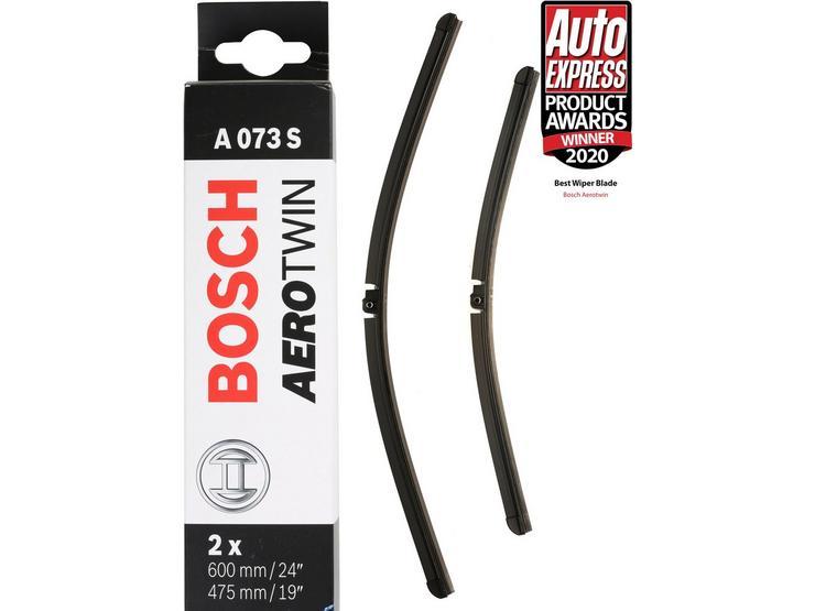 Bosch A073S Wiper Blades - Front Pair