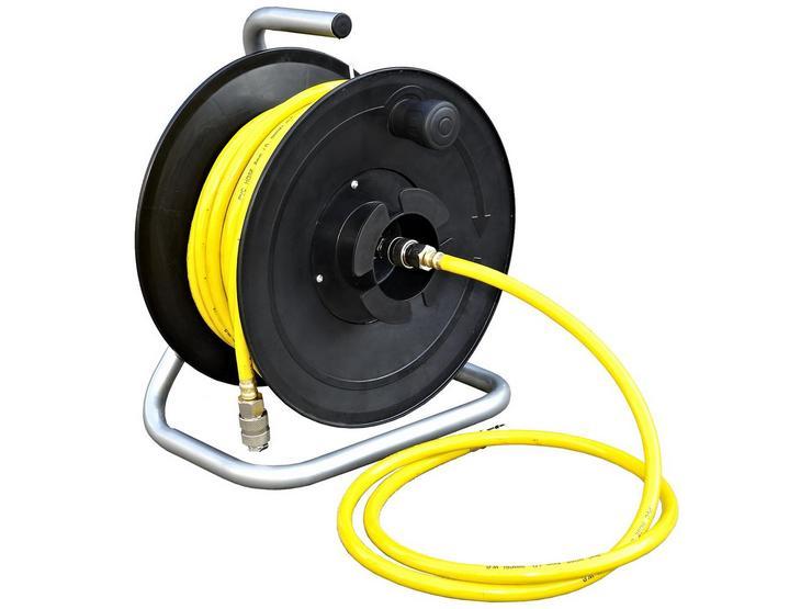 SIP Major Floor Mounted 20 metre air hose and hose reel