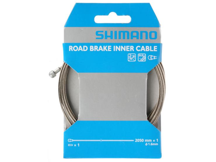 Shimano Stainless Steel Inner Brake Cable, 2050mm