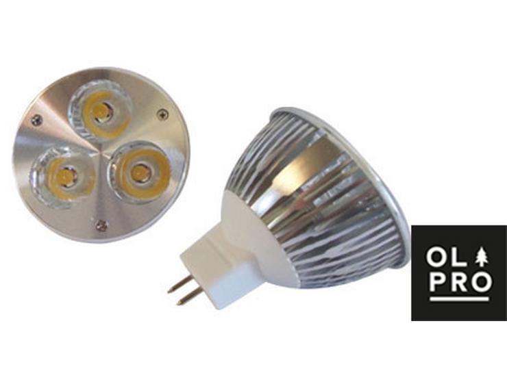 Olpro Natural White 3w LED (MR16) Bulb