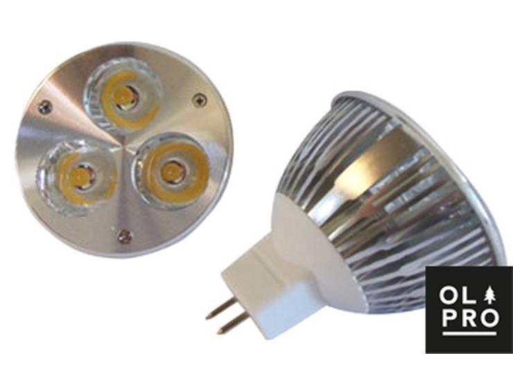 Olpro Warm White 6w LED Bulb (MR16)